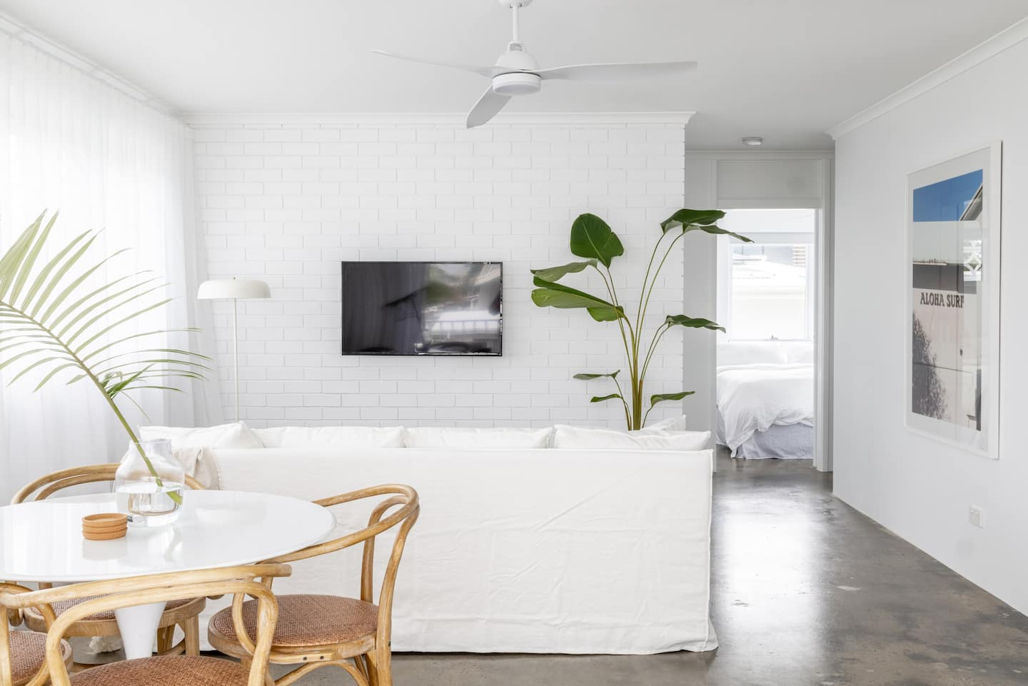 Living area at Gold Coast accommodation