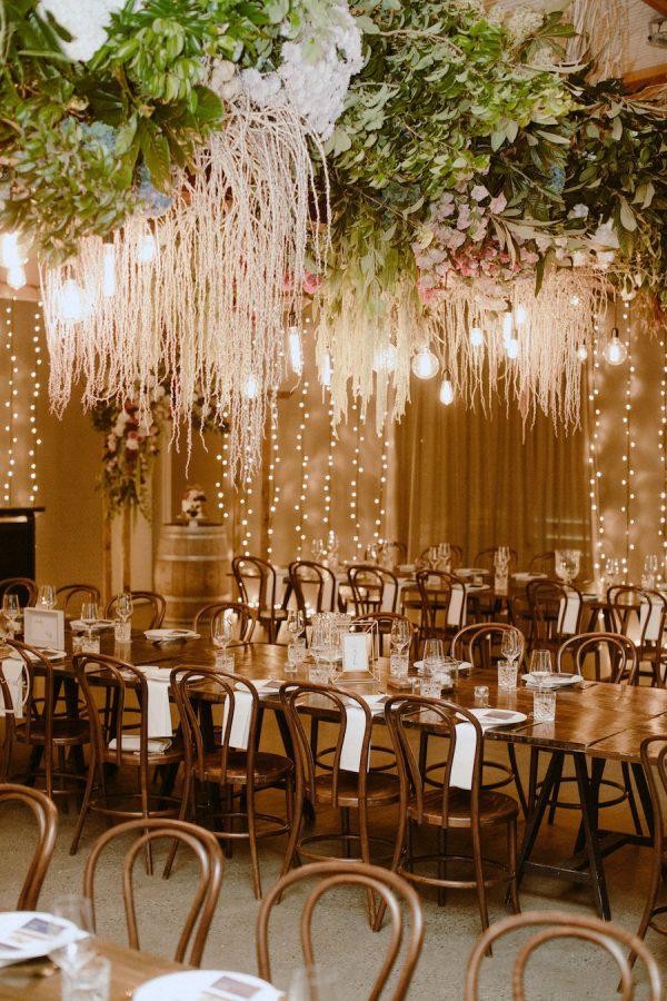 wedding venue reception styling