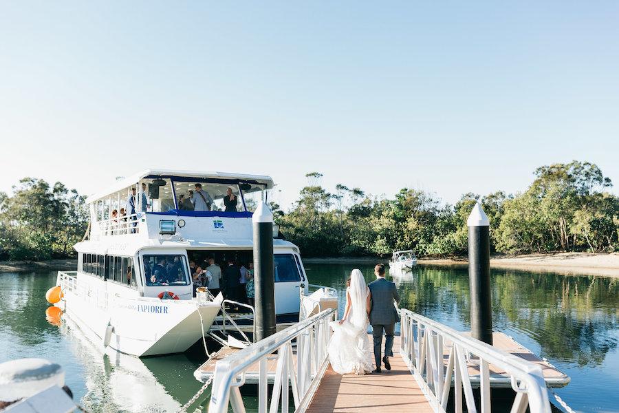 Tweed eco cruises waterfront wedding venue