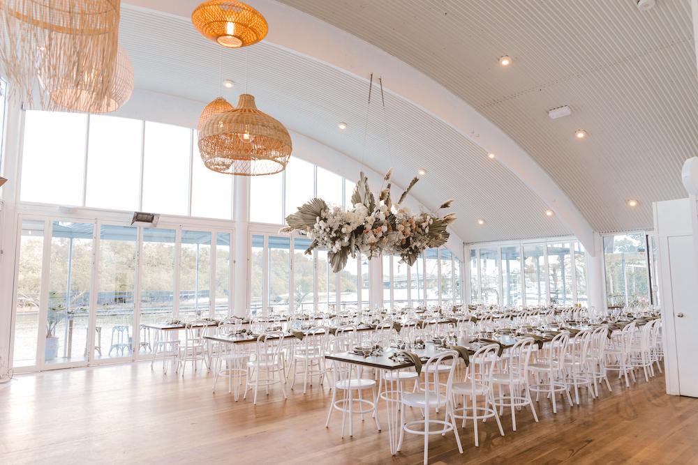 Ancora wedding reception space